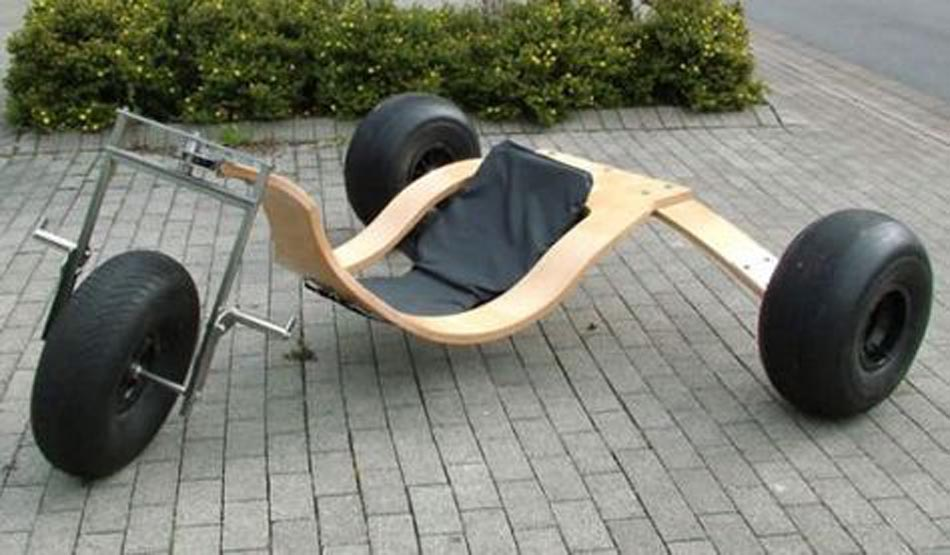 Home made kitebuggy - wood
