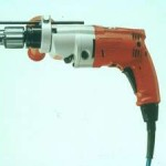 Electric Drill, or a Bench Grinder