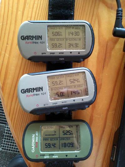 Petra's GPS's