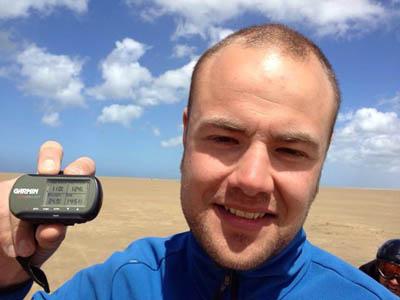 Maikel Boels 110km/h - 68.35mph
