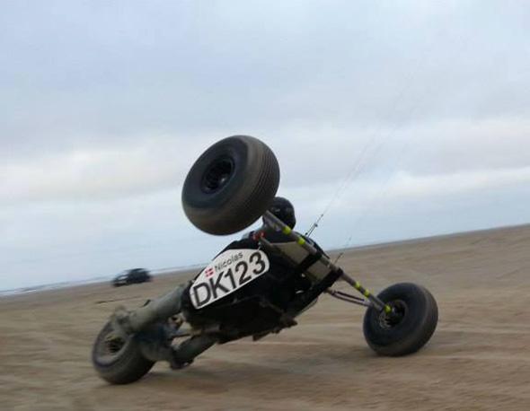 Nicolas Jackson DK123 two wheeling