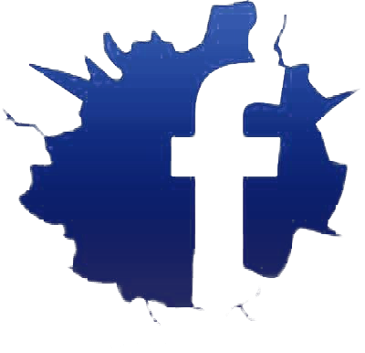 cracked_facebook_logo
