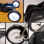 Set ready for Landsegler Wheels