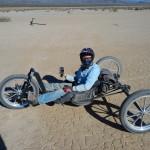 Dry lake record holder Tami Fraser