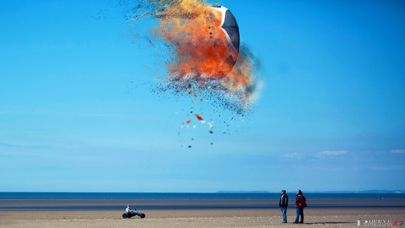 Exploding Inflatable